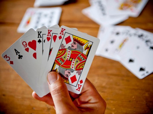 Playing cards - a world of complexity lurking in a deck of 52 cards.(© All Rights Reserved)