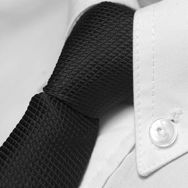 Try as you might, but a clip-on tie will never have the 'oomph' of a classy, properly tied tie.(© All Rights Reserved)