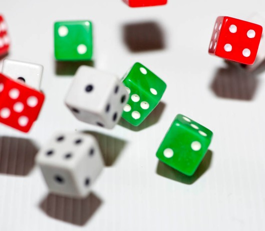 The more dice you throw, the more complex the maths can become.(© All Rights Reserved)