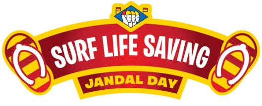 Jandal Day raises funds for Surf Life Saving.