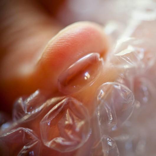 Bubble wrap addiction