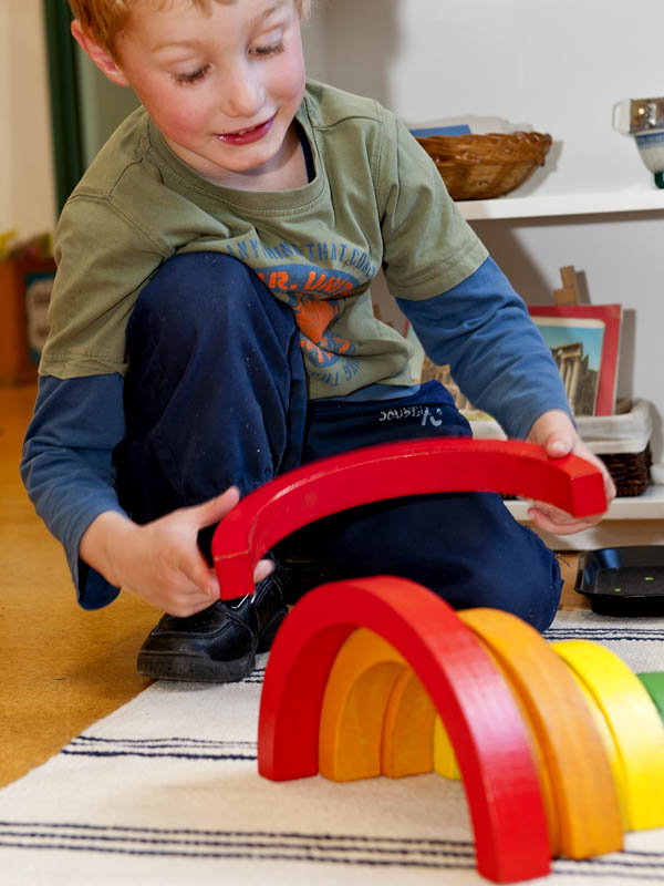Learning and playing - all part of the voyage of discovery according to Maria Montessori.(© All Rights Reserved)