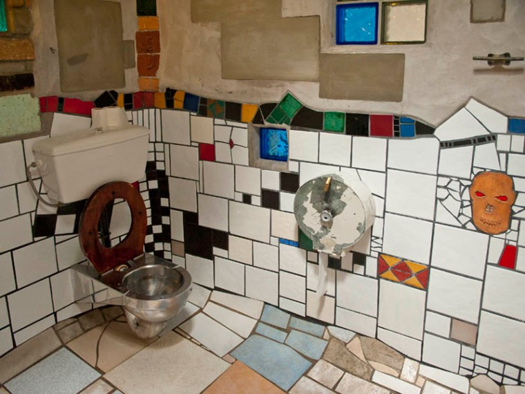 If Thomas Crapper turned the toilet into an everyday item, Austrian artist Frederick Hundertwasser turned it into a work of art. This is a public toilet in Kawakawa in the Bay of Islands, New Zealand, created by Hundertwasser, which is quite a sight to behold. Apparently he considered the the toilet a special place, because it is somewhere you have time to meditate in peace. Hence his dedication to elevating its aesthetic appeal. (© All Rights Reserved)