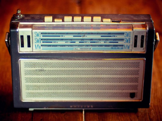 No matter how old the radio, you can still access the latest news, views and information.(© All Rights Reserved)