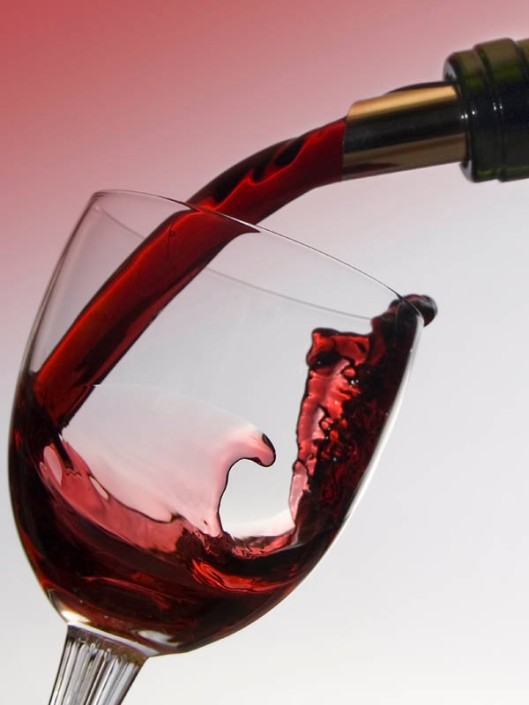 Wine - it can be good for you, but watch out that moderation does not spill over into excess.(© All Rights Reserved)