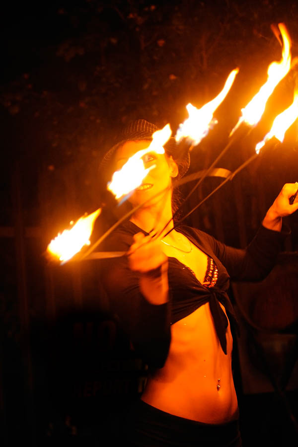 Kerosene, providing the flame of inspiration for fire dancers and other fiery performers.(© All Rights Reserved)