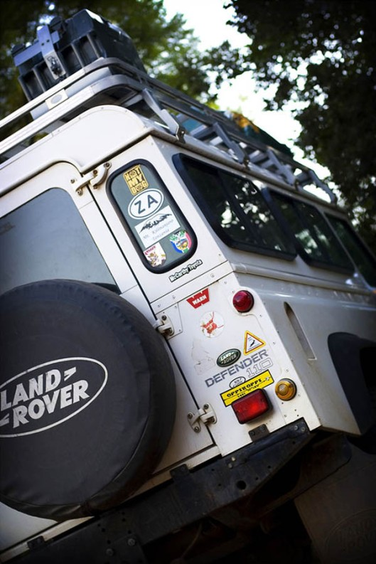 The Land Rover Defender - a go-anywhere icon since its launch in 1983. (© All Rights Reserved)