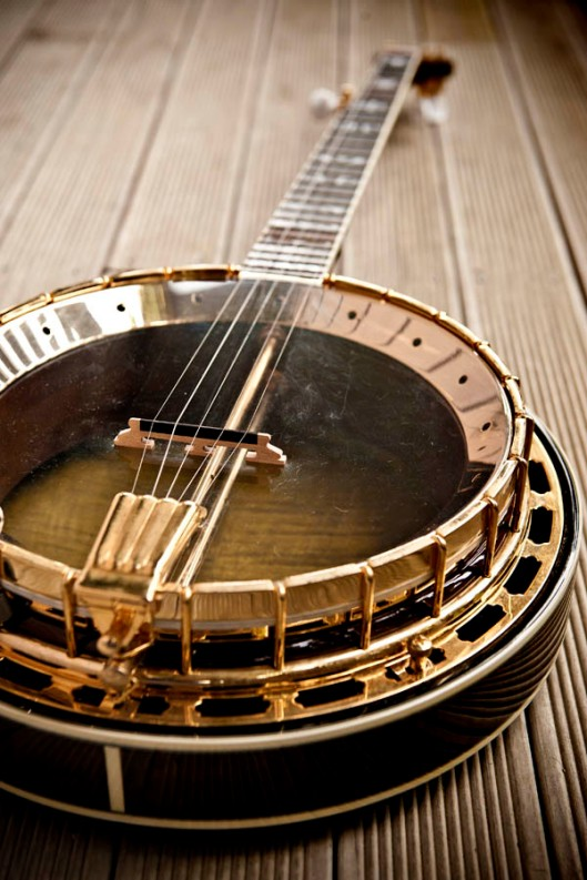 The banjo - if you like the way it sounds, you're bound to like it's looks too. (© All Rights Reserved)