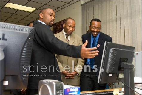 CSIR Ministerial visit 2008